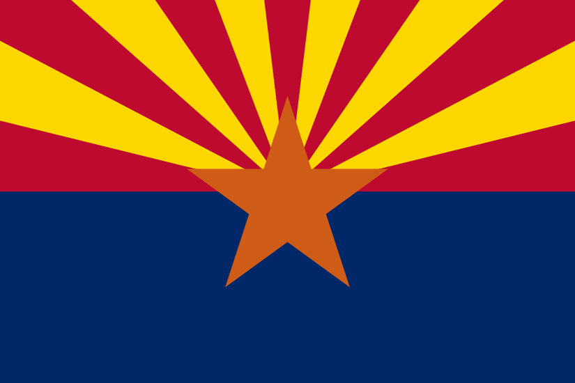 Arizona's State Flag Image