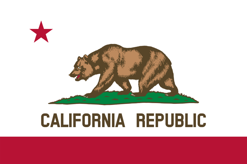California's State Flag Image