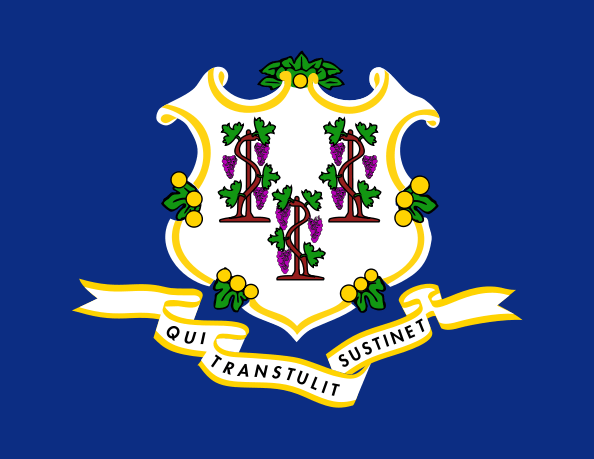 Connecticut's State Flag Image