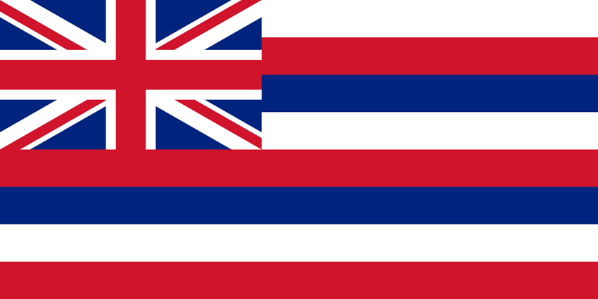 Hawaii's State Flag Image