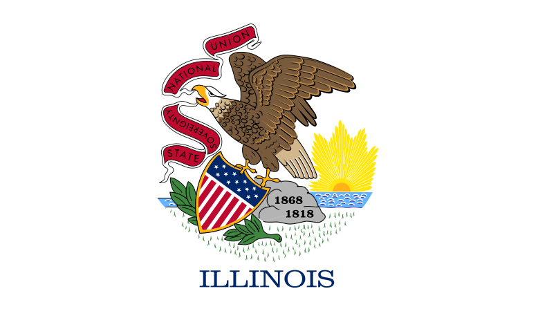 Illinois's State Flag Image