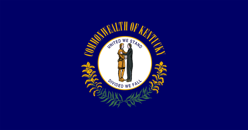 Kentucky's State Flag Image
