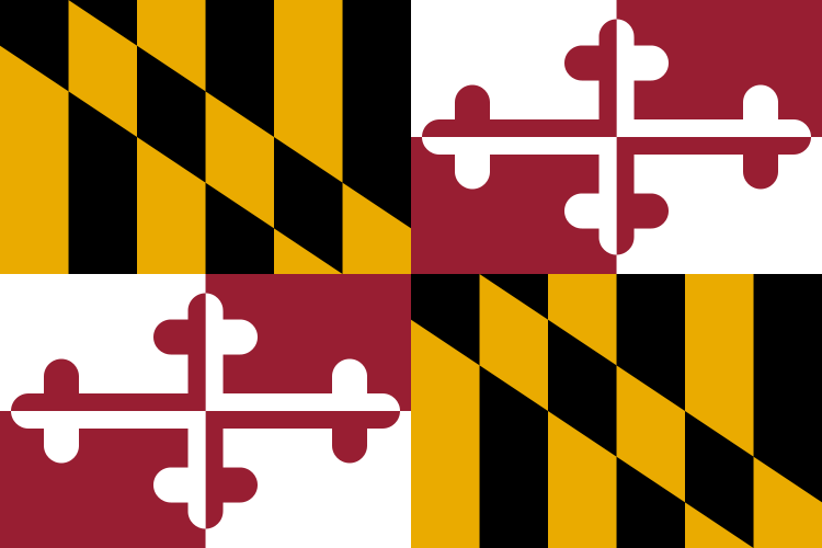 Maryland's State Flag Image