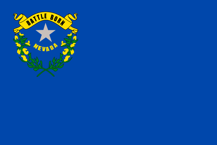 Nevada's State Flag Image