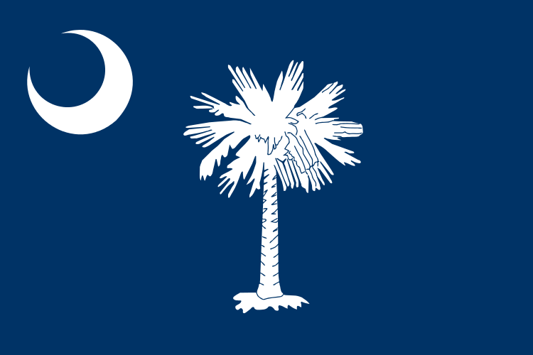 South Carolina's State Flag Image
