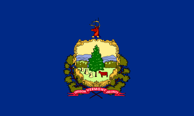 Vermont's State Flag Image