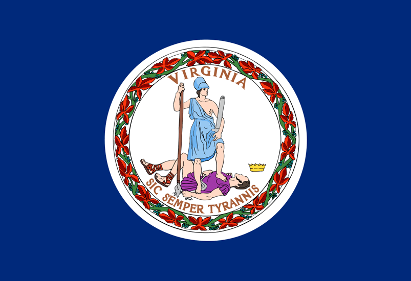 Virginia's State Flag Image
