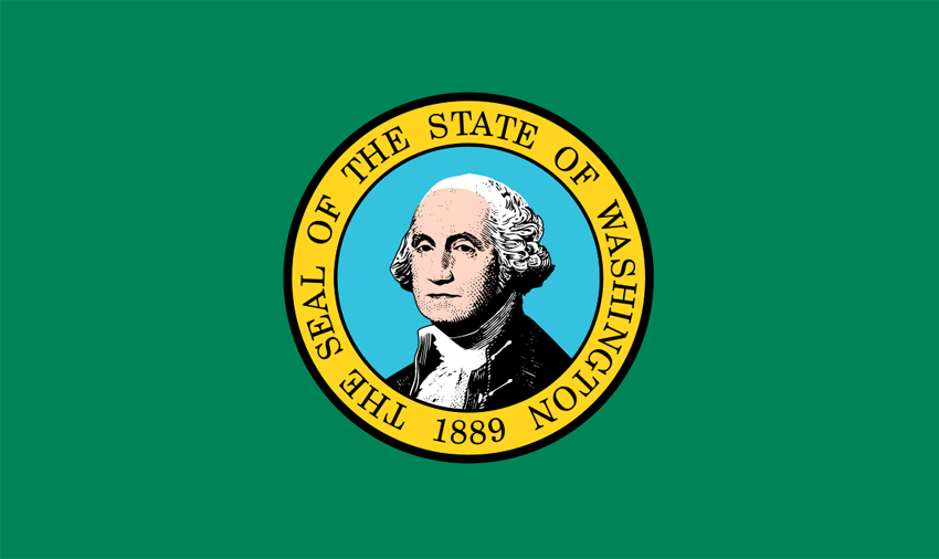 Washington's State Flag Image