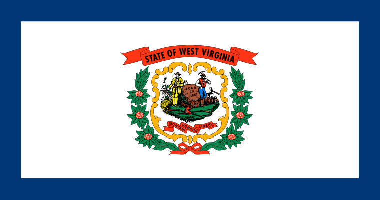 West Virginia's State Flag Image