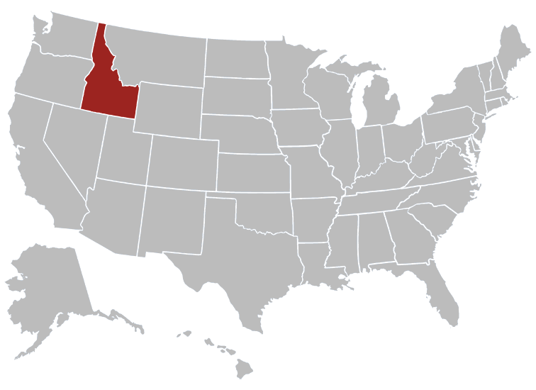 Idaho Map Image