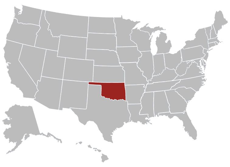 Oklahoma Map Image