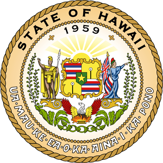 Hawaii's State Seal Image