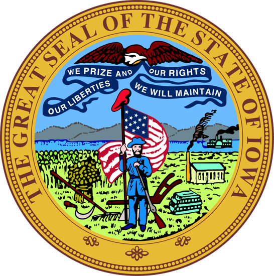 Iowa's State Seal Image