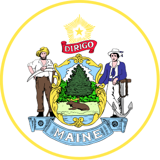 Maine's State Seal Image