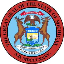 Michigan's State Seal Image
