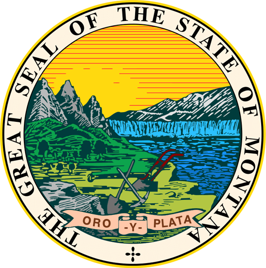 Montana's State Seal Image