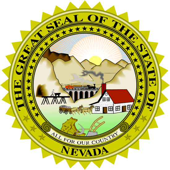 Nevada's State Seal Image