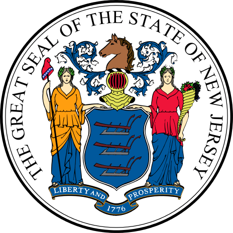 New Jersey's State Seal Image