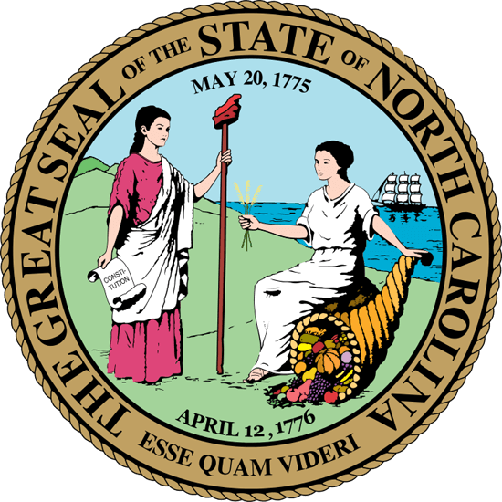 North Carolina's State Seal Image