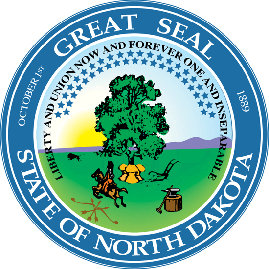North Dakota's State Seal Image