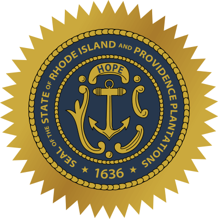 Rhode Island's State Seal Image