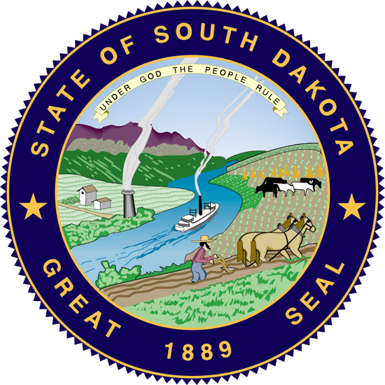South Dakota's State Seal Image