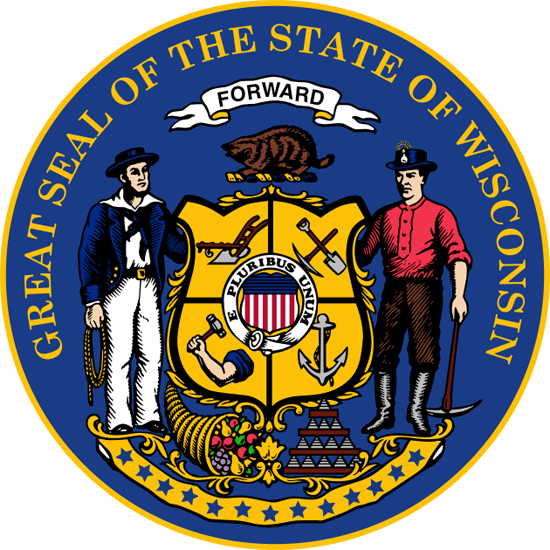 Wisconsin's State Seal Image